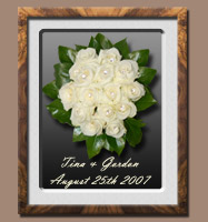 Wedding Bouquet Cream/White