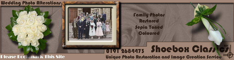 Wedding Photo Restoration Services
